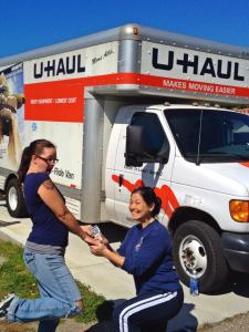 Good Ol' Fashion Lesbian U Haul!